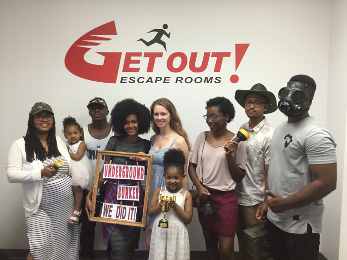 Underground Bunker Featured Photo from GET OUT! Escape Rooms